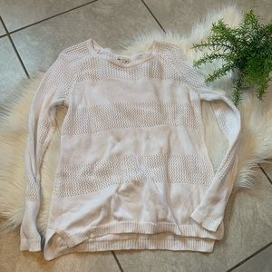 Gal. White knit sweater. Size XS